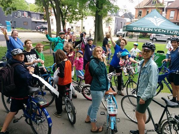 annual pride ride hamilton bike share