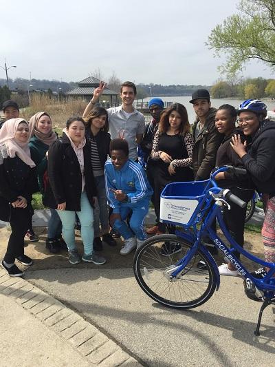 group ride hamilton bike share