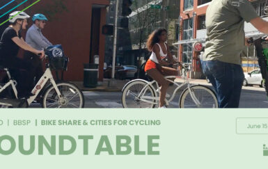 The End of NACTO & BBSP & Cities for Cycling Roundtable