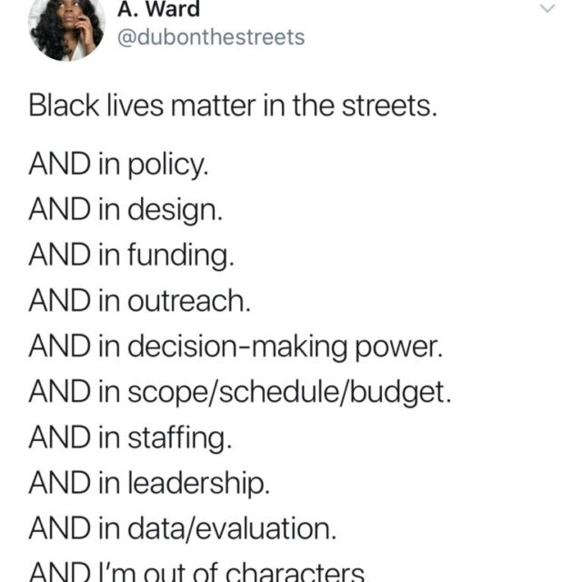 How to Dismantle Racism In Transportation — Thoughts From the Field