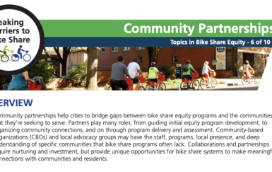 2-pager: Community Partnerships