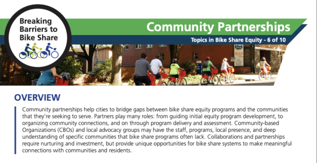 A screenshot of the PSU Community Partnerships 2-pager.