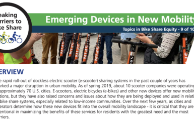 2-pager: Emerging Devices in New Mobility