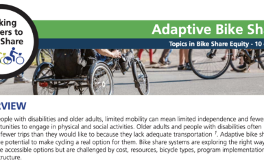 2-pager: Adaptive Bike Share
