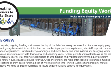 2-pager: Funding Equity Work