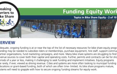 TREC x PSU: Breaking Barriers to Bike Share Briefs