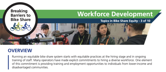 A screenshot of the PSU Workforce Development one-pager