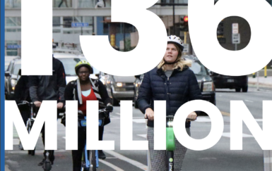 NACTO's 2019 Shared Mobility Analysis Shows 136 Million Trips Taken