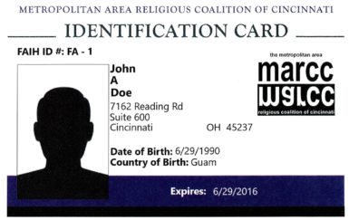 The MARCC ID Card: Identification for Everyone