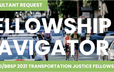 Consultant Request for BBSP x NACTO Fellowship: Are You Our Fellowship Navigator?