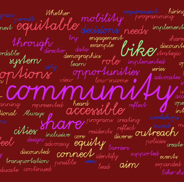 Equity in Bike Share Community Engagement