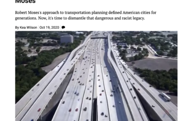 How Streetsblog USA Says Cities Can Repeal the Legacy of Robert Moses