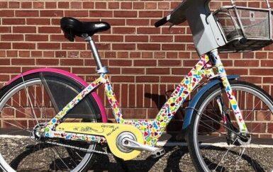 Community Art Meets Bike Share