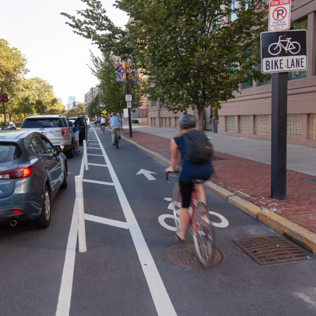 Protected Bike Lanes Are Better For Bike Share